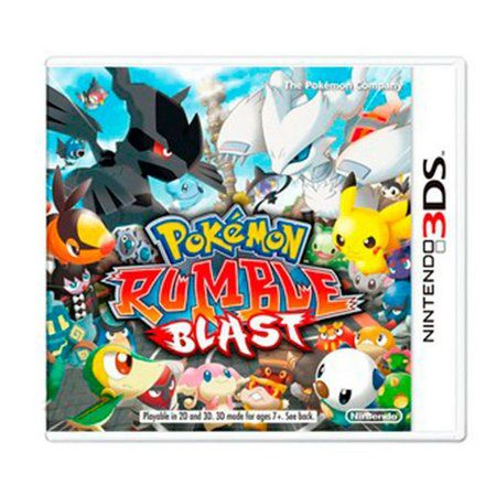 Jogo Pokemon Rumble Blast semi novo 3ds