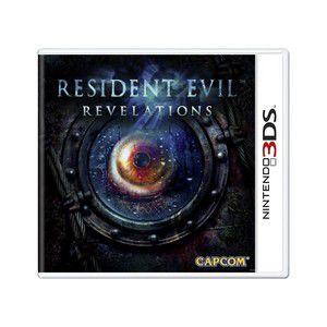 Jogo Resident Evil Revelations semi novo 3ds