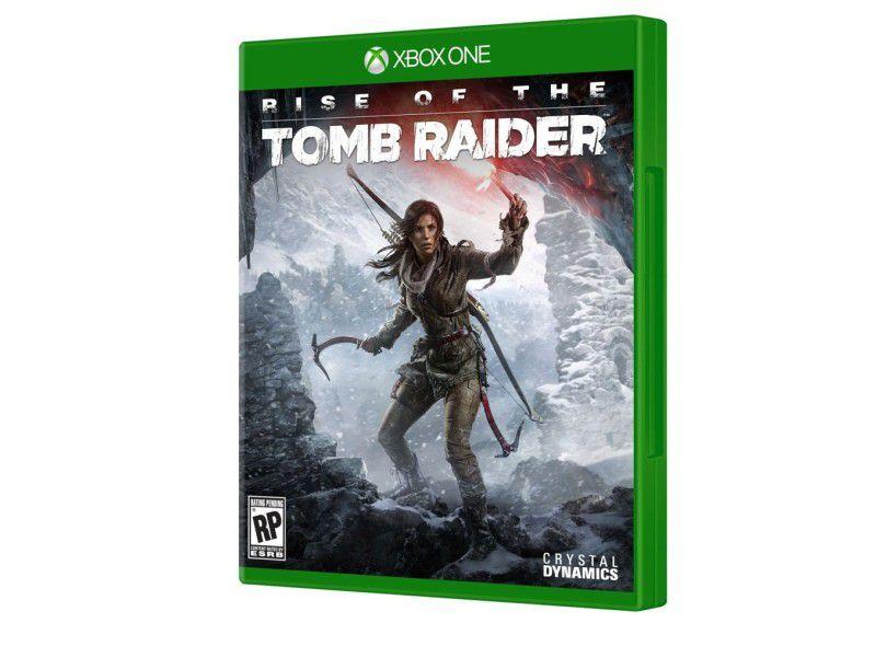Jogo Rise of the Tomb Raider semi novo Xbox one