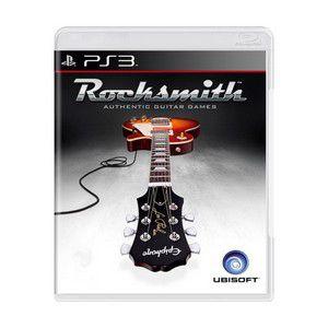 Jogo Rocksmith semi novo Ps3