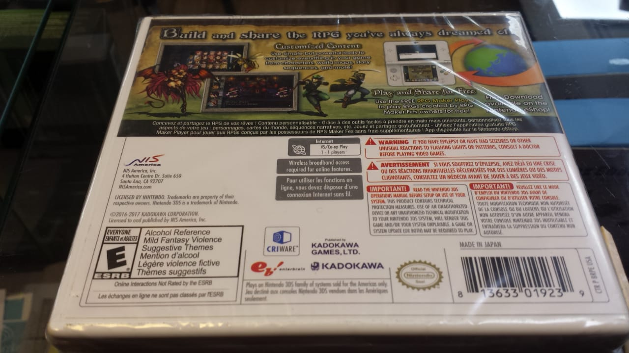 Jogo RPG Maker Fes