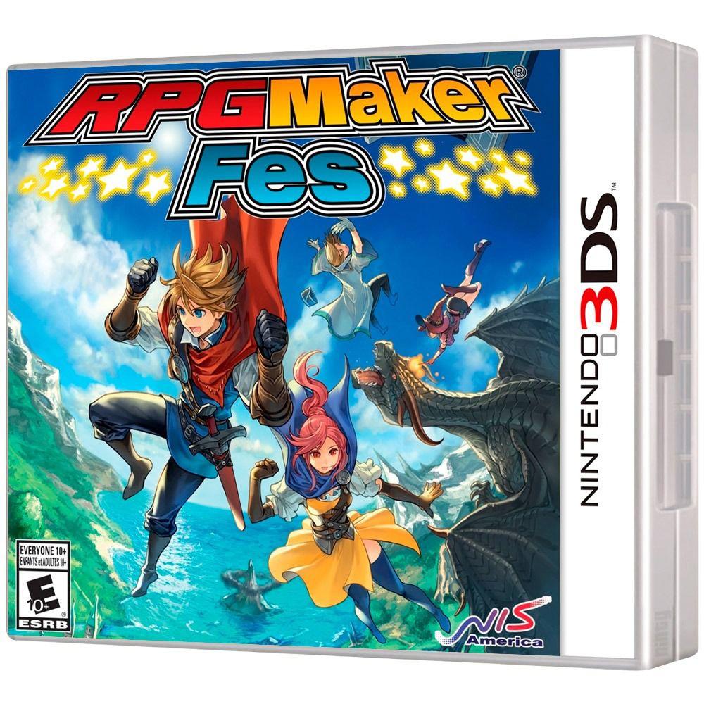 Jogo RPG Maker FES Novo Lacrado