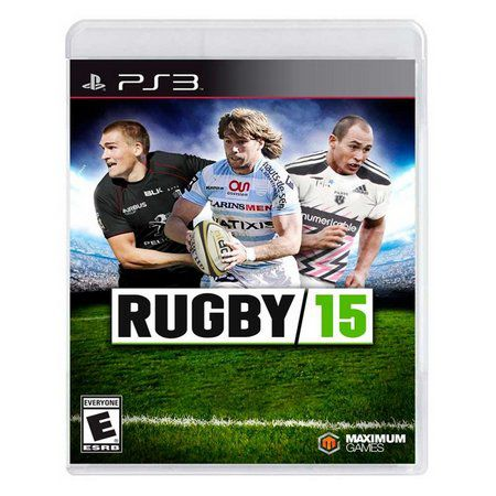 Jogo Rugby 15 novo Lacrado Ps3