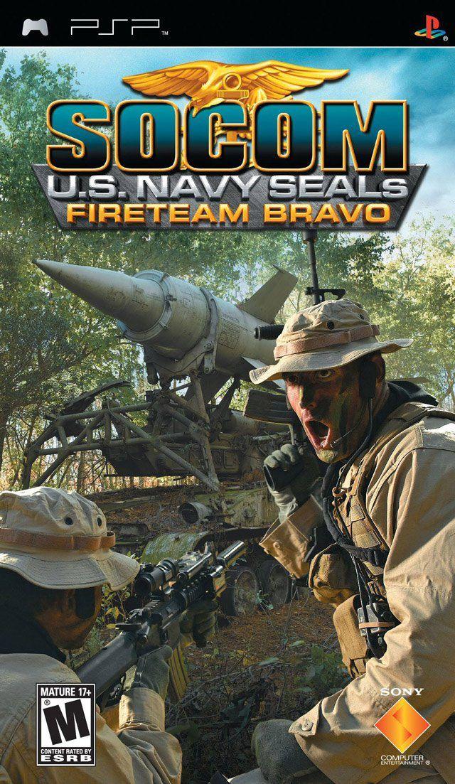 Jogo Socom US Navy Seals Fireteam Bravo novo Lacrado PSP