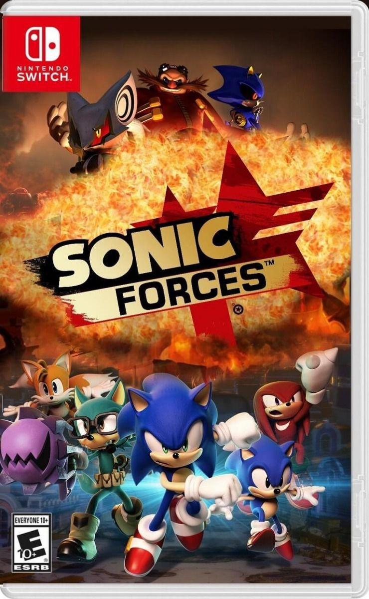 Jogo Sonic Forces Nintendo Switch Seminovo
