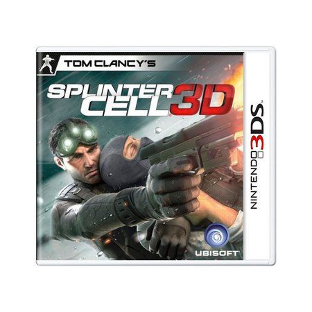 Jogo Splinter Cell 3D semi novo 3D 3ds