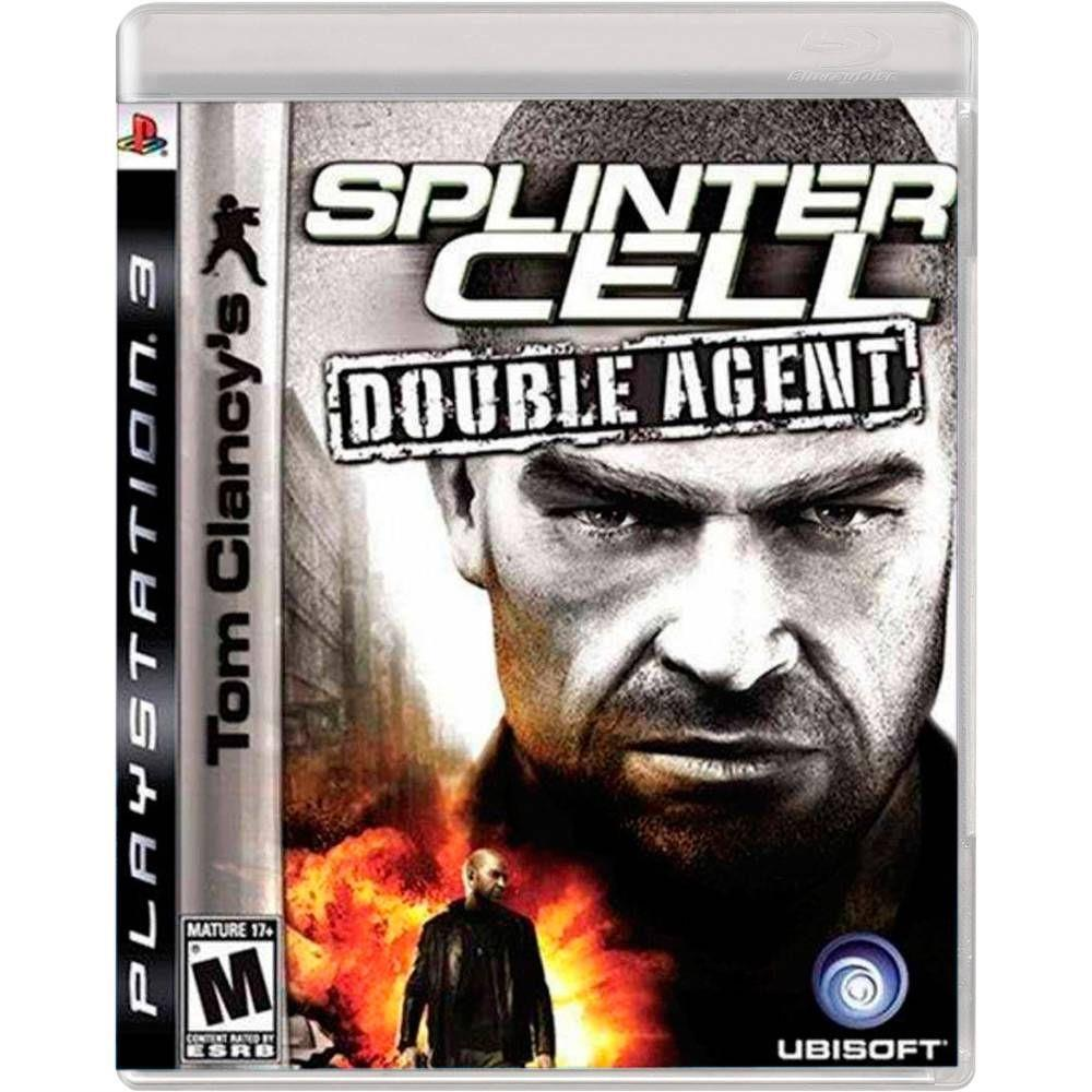 Jogo Splinter Cell Double Agent semi novo Ps3