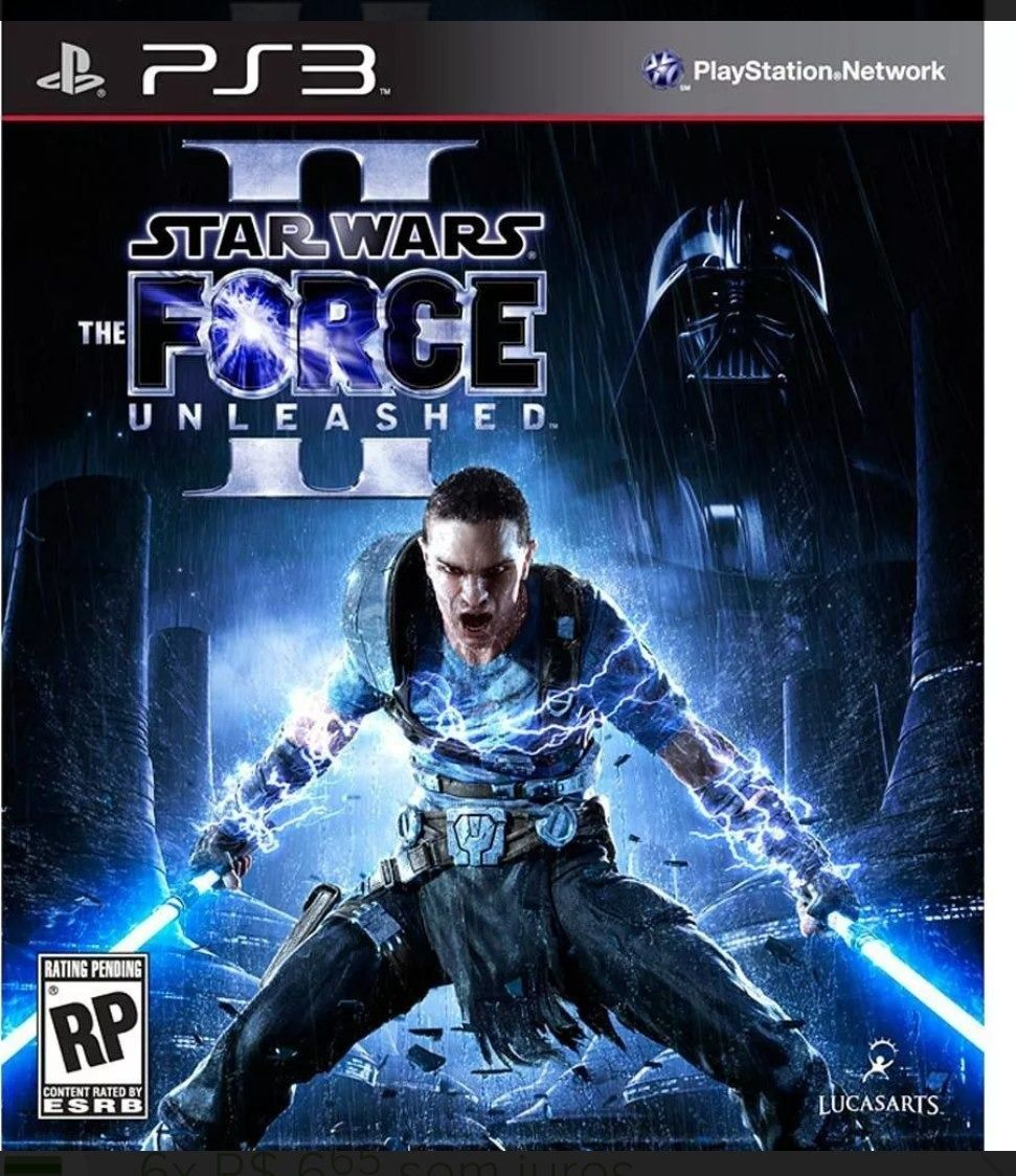 Jogo Star Wars the Force Unleashed 2 semi novo Ps3