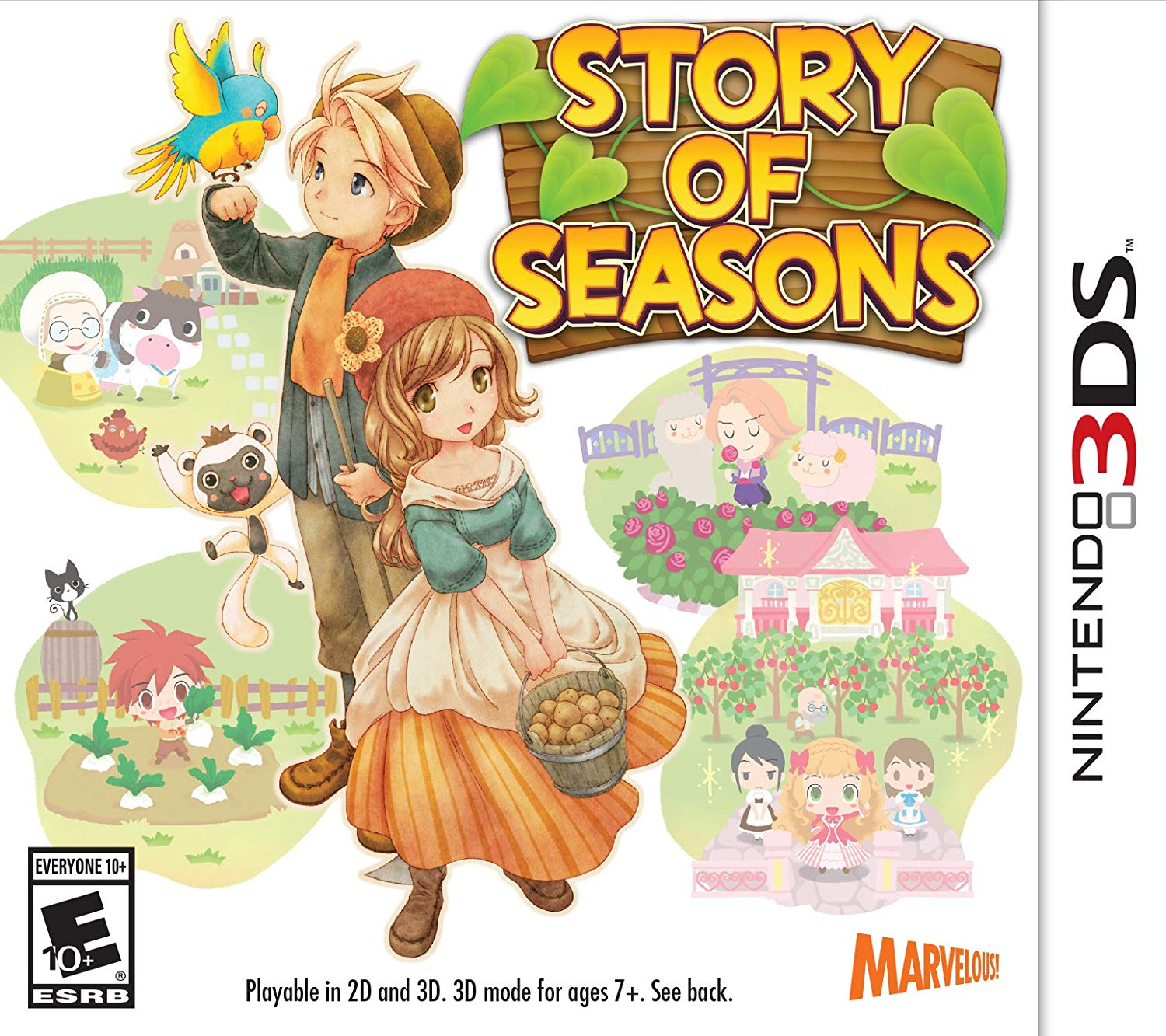 Jogo Story of seasons semi novo 3ds