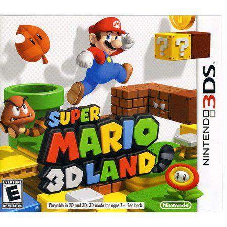 Jogo Super Mario 3D Lands semi novo 3ds