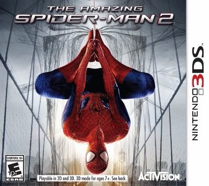 Jogo The Amazing Spider Man 2 semi novo 3ds