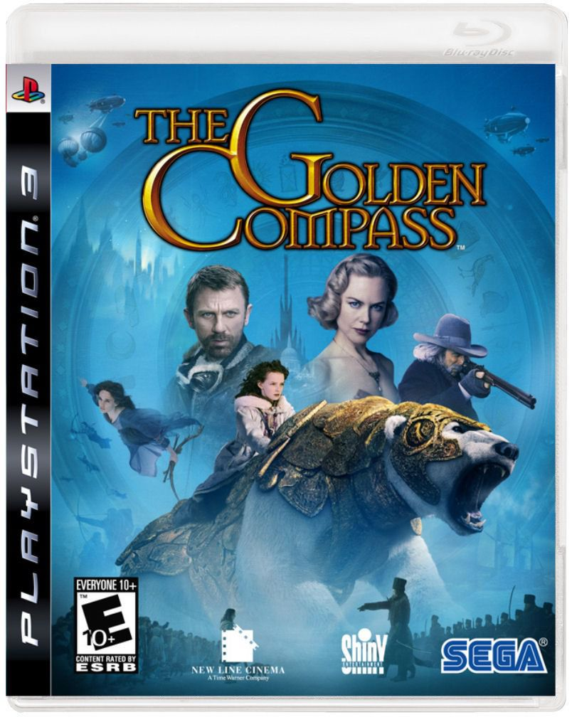 Jogo The Golden Compass semi novo Ps3