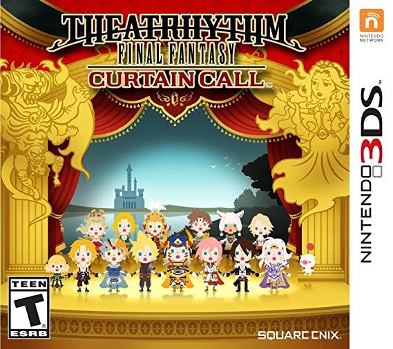 Jogo Theatrhythm Final Fantasy Curtain Call semi novo 3ds