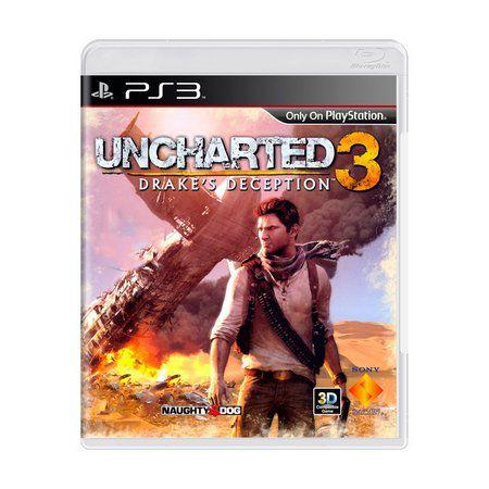 Jogo Uncharted 3 semi novo Ps3