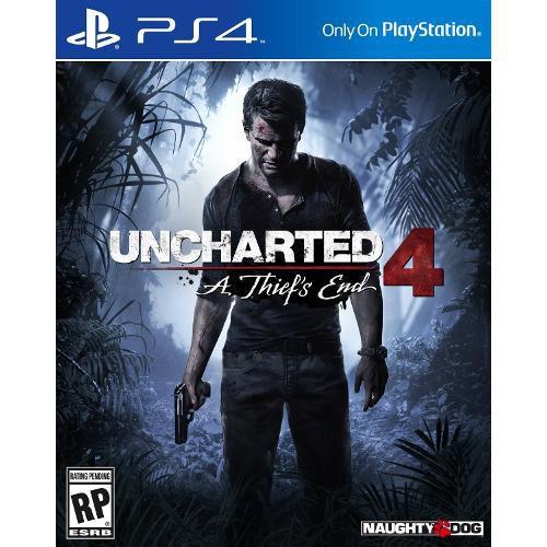 Jogo Uncharted 4 A Thiefs End semi novo Ps4