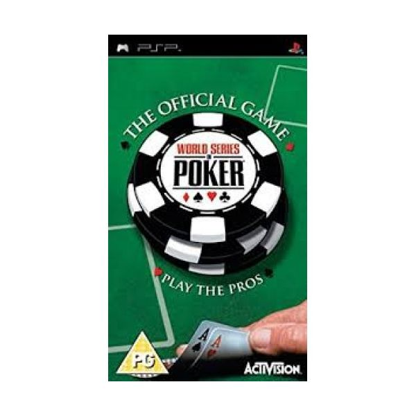 Jogo World Series of Poker the official game semi novo PSP