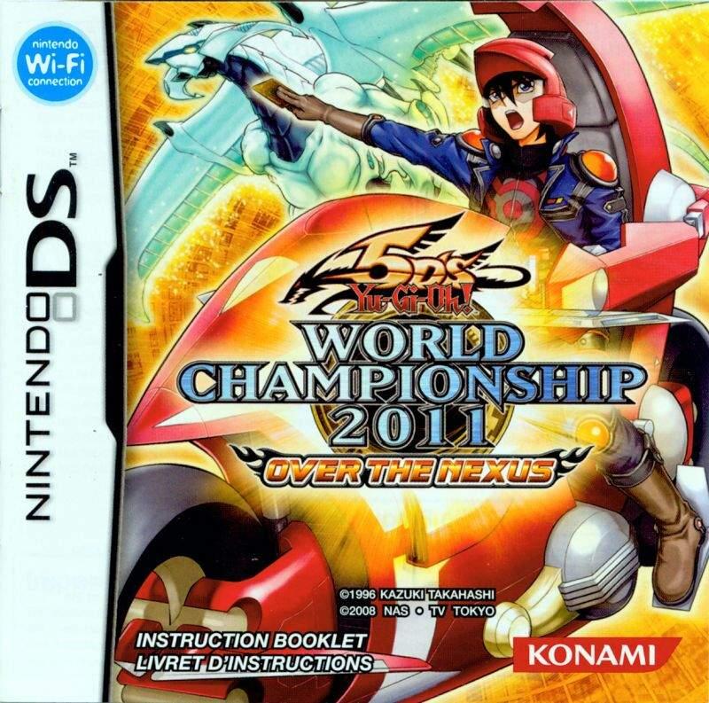 jogpo 5ds Yu Gi Oh! World Championship 2011 Over the Nexus