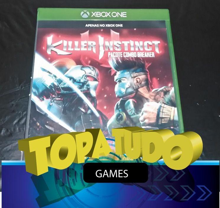 Killer Instinct Pacote Combo Breaker Xbox One Seminovo Loja