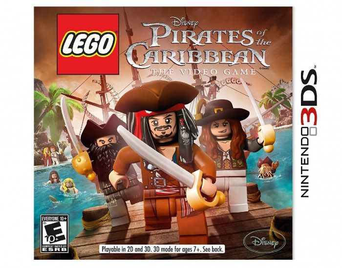 Lego Pirates of the Caribean the Video Game 3Ds Semino
