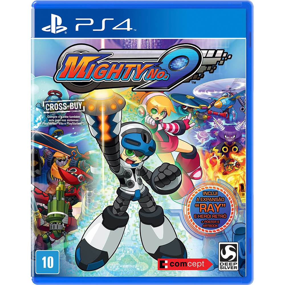 Mighty No 9 Jogo Ps4 Playstation 4 Mídia Física Semi novo