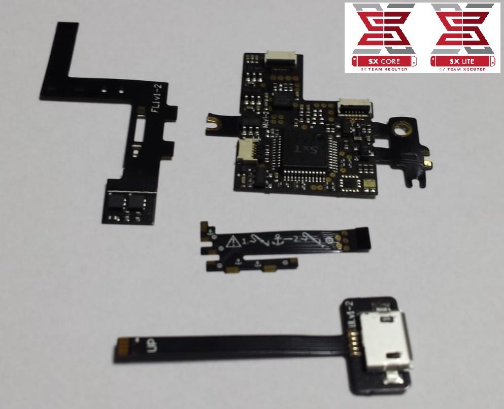 Modchip de desbloqueio SX Core para Nintendo Switch Lite!!