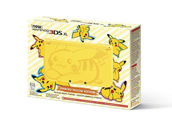 New Nintendo 3ds Xl Pikachu 32gb Desbloqueado Jogos