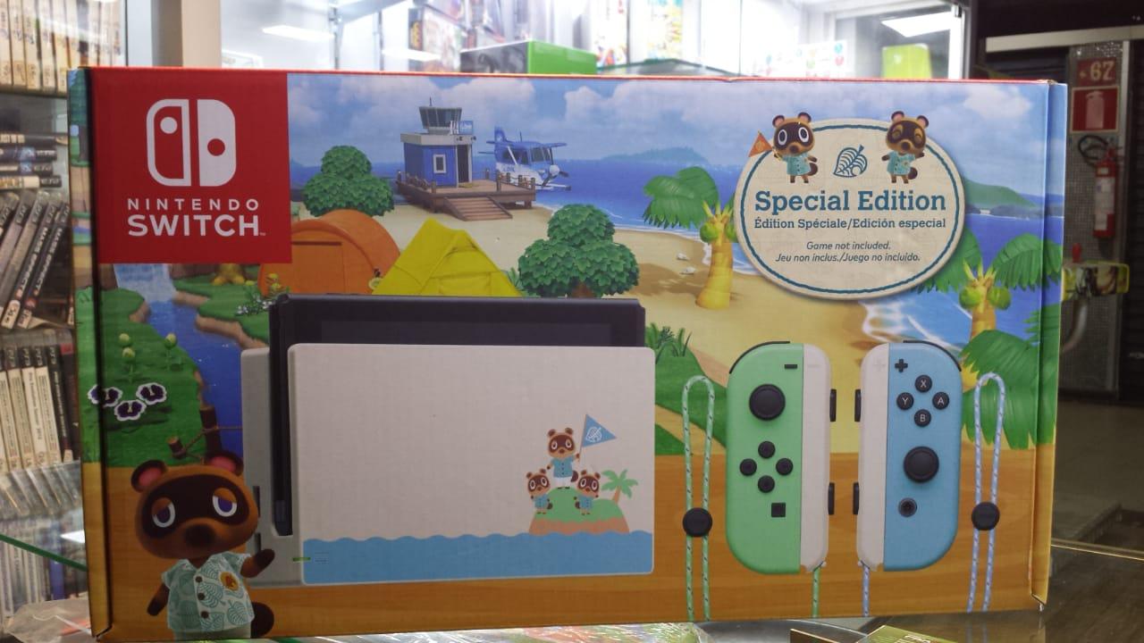 Nintendo Switch Special Edition Animal Crossing novo