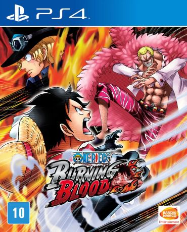 One Piece Burning Blood Novo Lacrado Ps4 Playstation 4 Loja