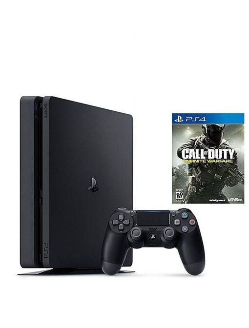 Ps4 Playstation 4 Slim 500gb + Cod Infinite Warfare