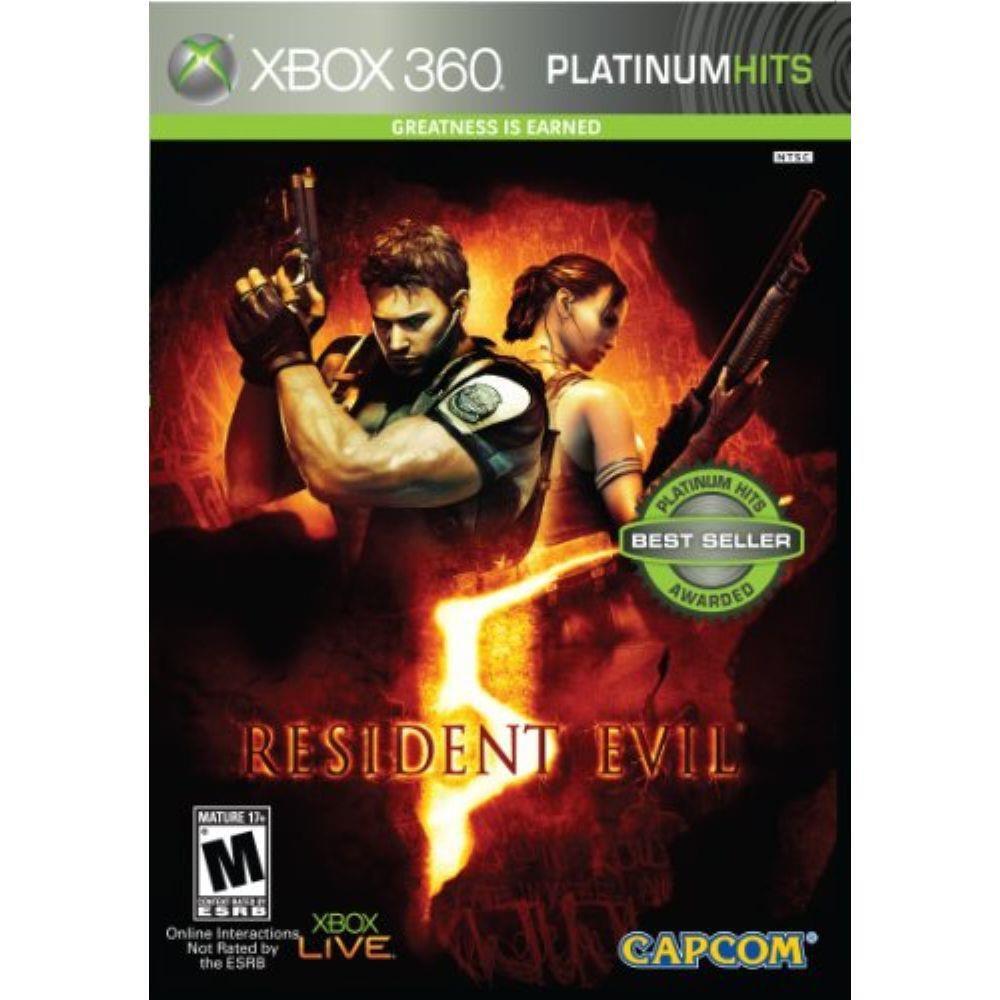 Resident Evil 5 Jogo Xbox 360 Seminovo Loja Bh