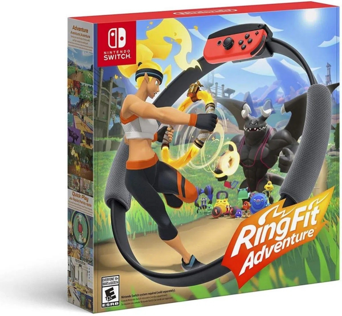 Ring Fit Adventure Nintendo Switch Novo Original