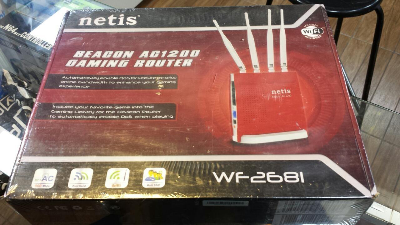 Roteador Gamer Netis WF2681