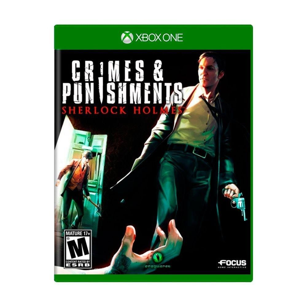 Sherlock Holmes: Crimes & Punishments Novo Lacrado Xbox One