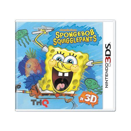 Spongerbob Squigglepants 3D semi novo 3ds