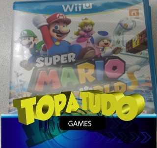 Super Mario 3d World Jogo Wii U Seminovo Garantia