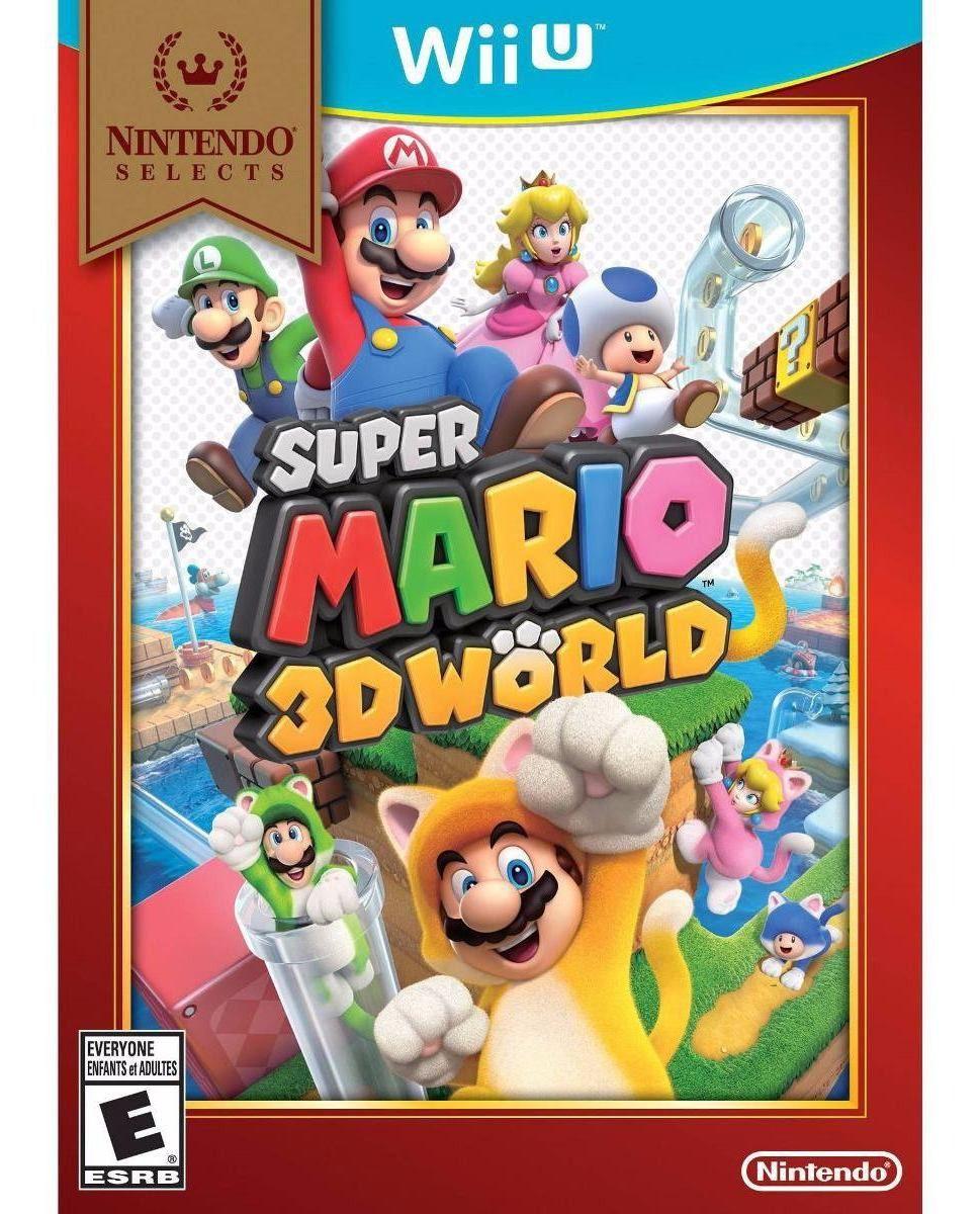 Super Mario 3D Worlds Wii U Novo