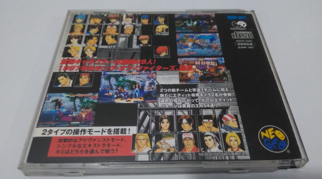 The King Of Fighters 97 Kof 97 Neo Geo Cd Original Japonês