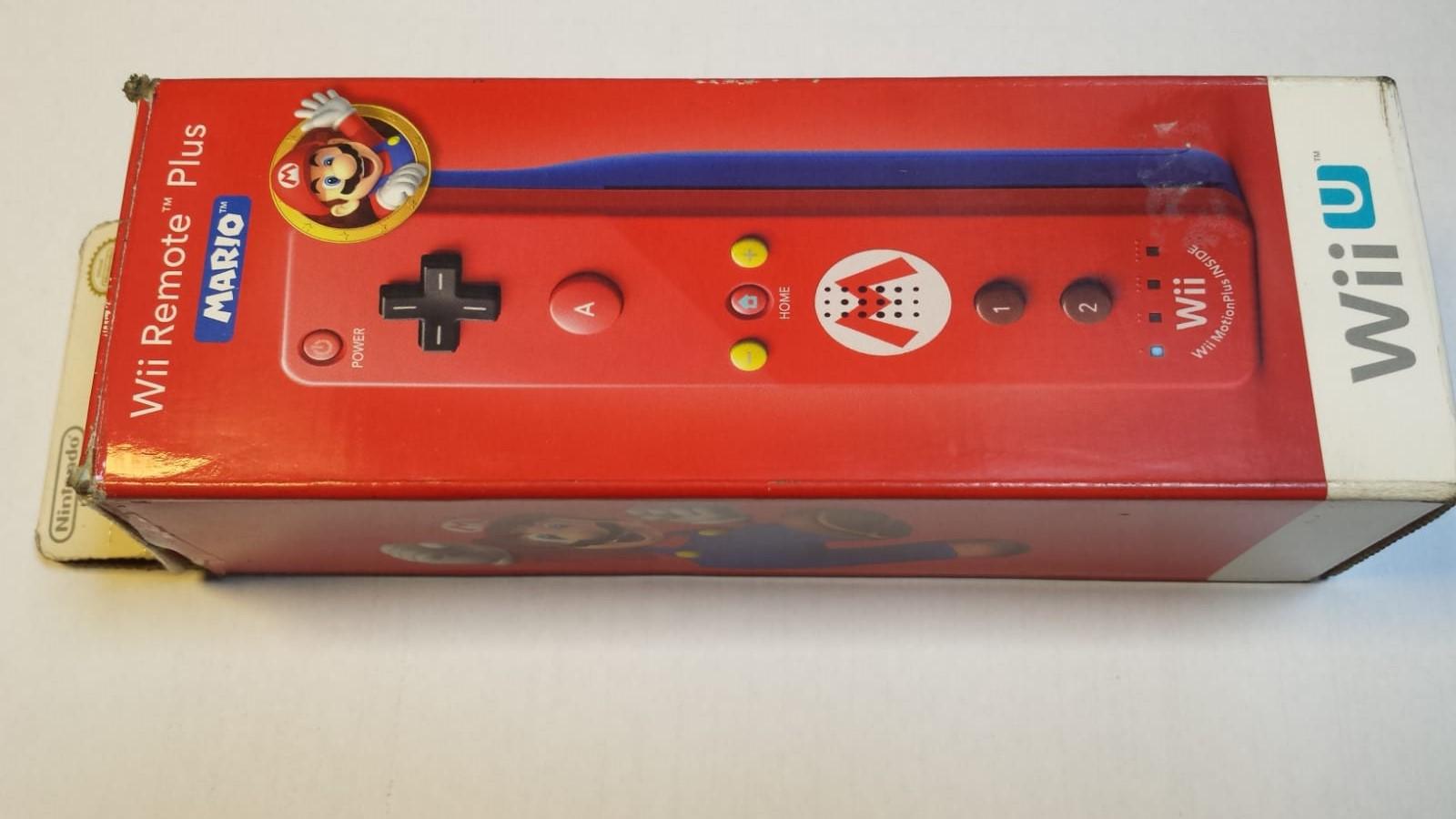 Wii Remote Plus Ediçao Mario