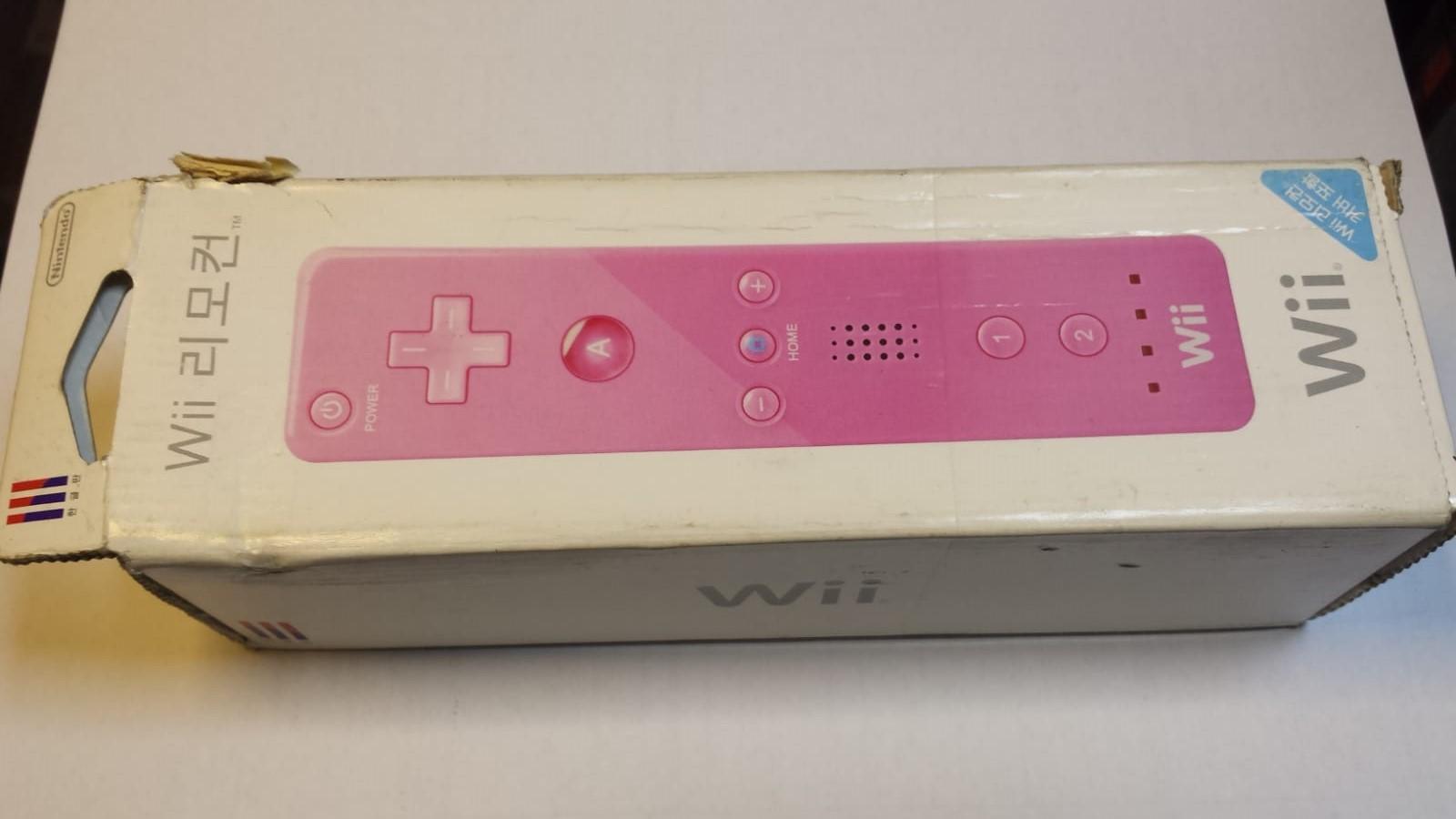 Wii Remote Rosa semi novo