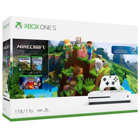 Xbox One S Branco 1tb Bundle Minecraft Microsoft Lacrado