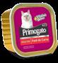 Caixa 8/unidades Petisco Úmido Primogato Carne Patê 150g