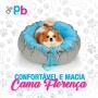 Cama  para cachorro Firenze Bichinho Chic  -  Azul- P