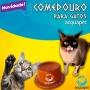 Comedouro para Gatos  Acquapet Cerâmica Livre de formigas