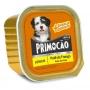 Kit 6 Ração umida Cão Úmido Primocao Junior Patê frango 300g