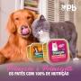 Kit com 3 Petisco Cão Úmido Primocao Junior Patê frango 300g
