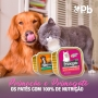 Petisco Gatos  Úmido Primogato  FRUTOS DO MAR Patê 150g