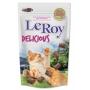 Petisco para Gatos Leroy Delicious Nuggets recheados e Crocantes 400g