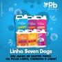 Shampoo para cachorro pelos claros Seven Dogs 5 litros