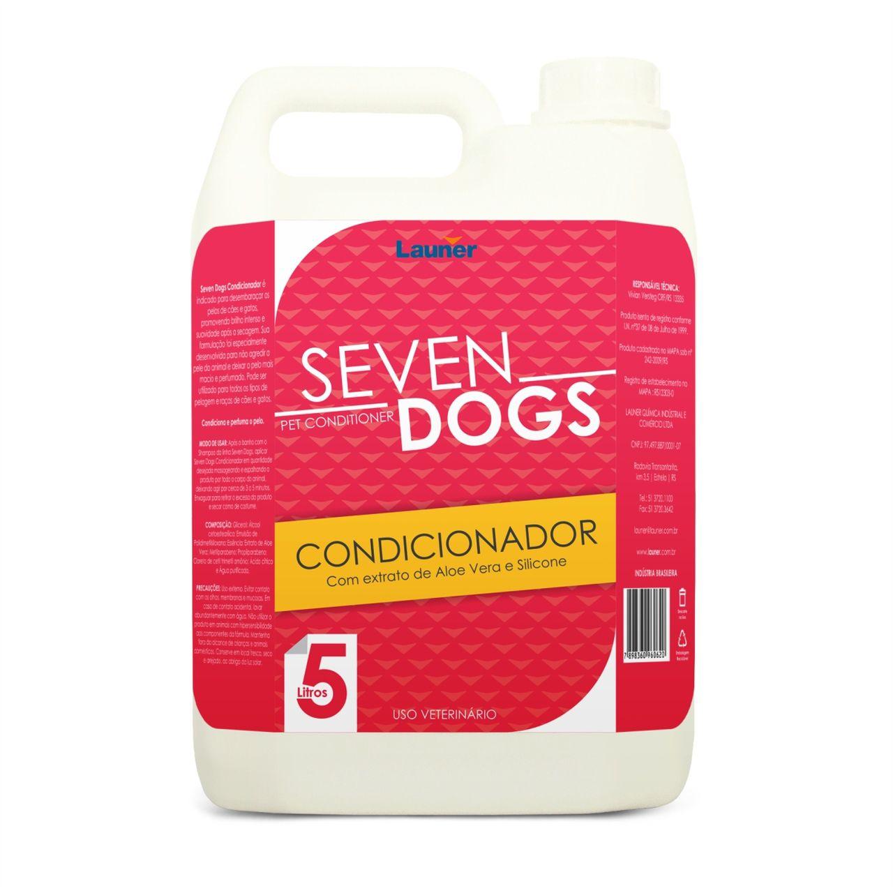 CONDICIONADOR  CACHORRO SEVEN DOGS  5L