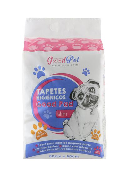 Kit 03 Pacotes Tapete Higiênico para Cães| Good Pad 60X60 50UND P&B